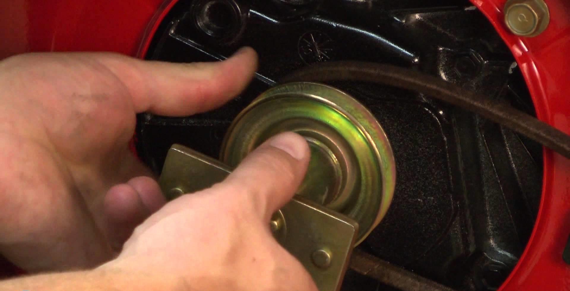 Замена адаптера ножа газонокосилки