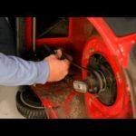 Замена приводного ремня газонокосилки