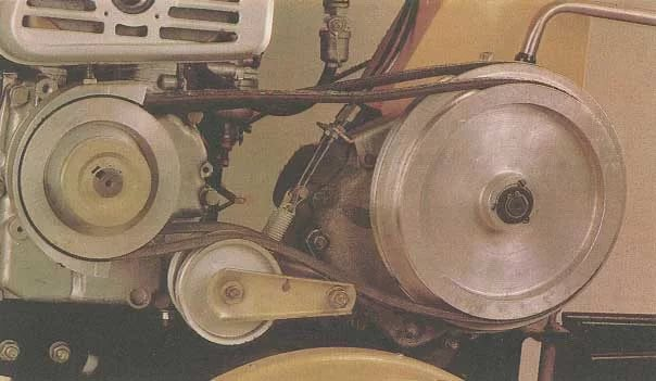 Замена троса натяжения ремня переднего / заднего хода мотоблока