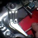 Замена троса регулировки оборотов двигателя виброплиты