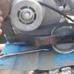 Регулировка троса натяжения ремня переднего / заднего хода мотоблока