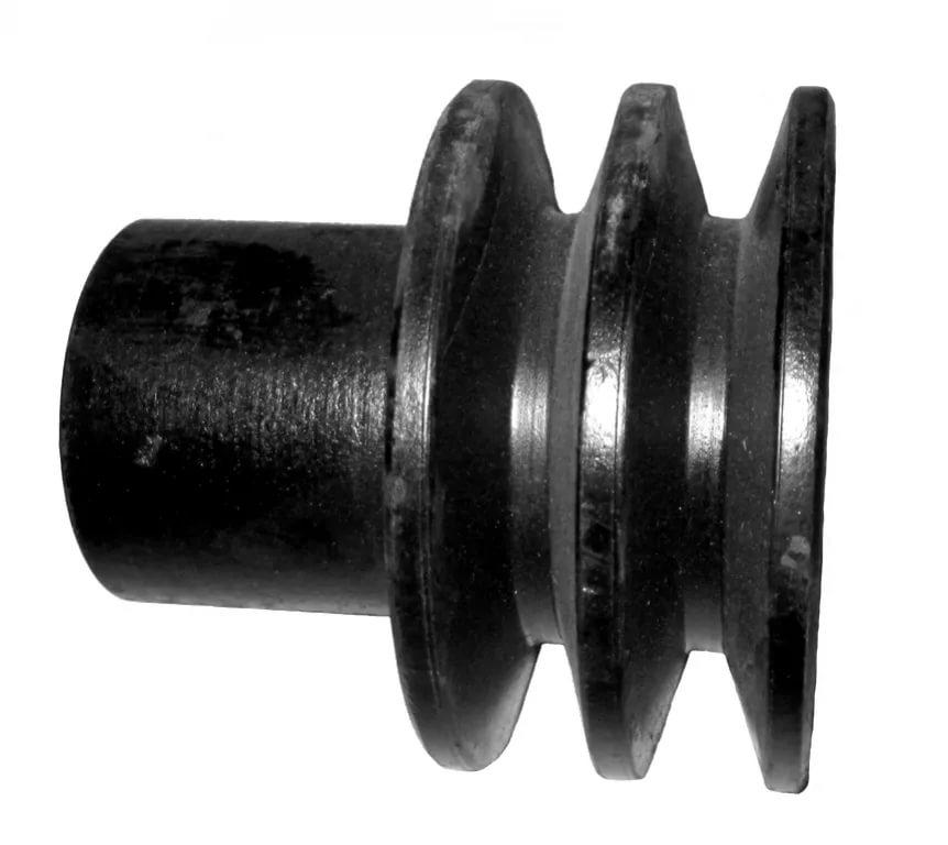 Замена шкива двигателя резчика швов