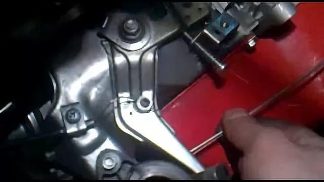 Замена троса регулировки оборотов двигателя мотоблока