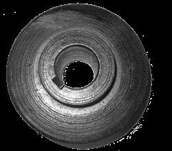 Замена шкива вала режущей гарнитуры резчика швов