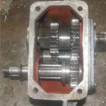 Переборка редуктора с одной передачей или одной передачей и реверсом мотоблока