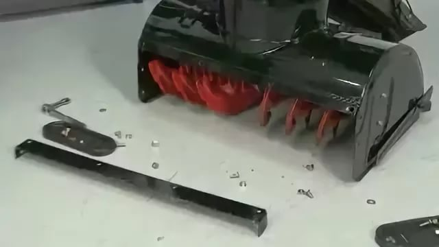 Замена салазок (башмаков/лыж) снегоуборщика