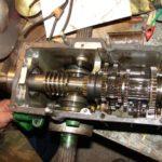 Переборка редуктора с коробкой передач мотоблока