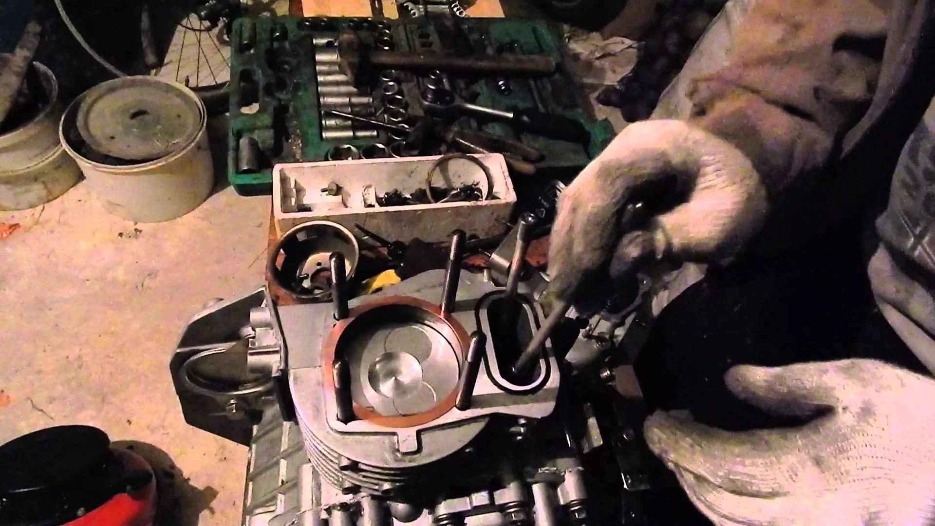 Комплексная диагностика с разборкой двигателя мотоблока