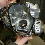 Комплексная диагностика с разборкой двигателя виброплиты