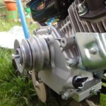 Замена шкива двигателя мотоблока