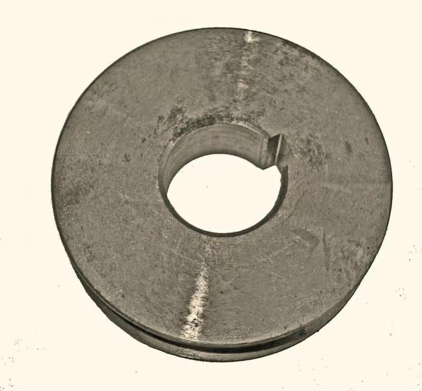 Замена шкива вибратора виброплиты