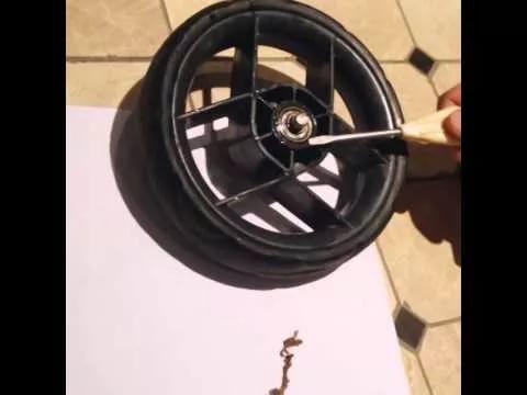 Замена подшипника в колесе газонокосилки