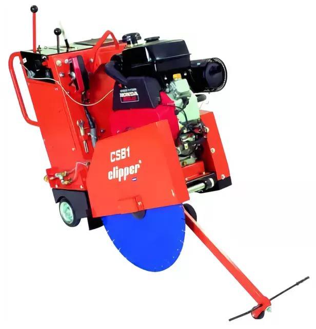 Замена / установка топливного бака резчика швов