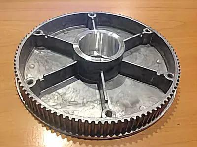 Замена фрикционного шкива (шкив привода хода) снегоуборщика