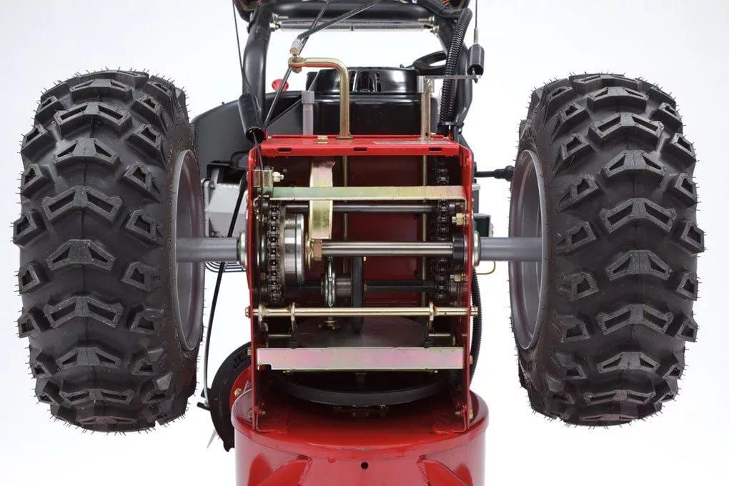 Замена оси колёс снегоуборщика