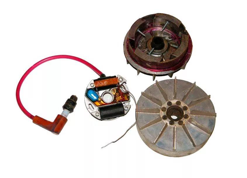 Замена катушки зажигания мотоблока