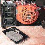 Замена воздушного фильтра бензогенератора