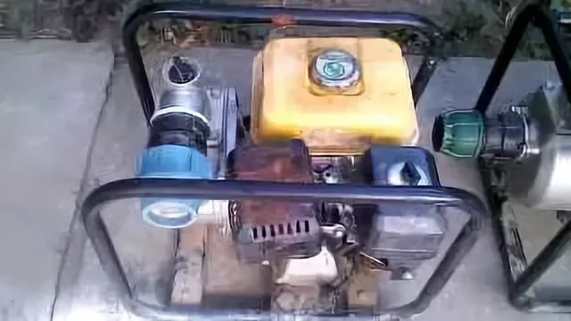 Замена / установка топливного бака мотопомпы