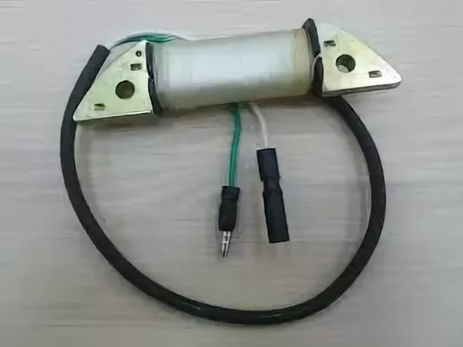 Замена катушки зарядки аккумулятора (12В) виброплиты