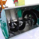 Замена шнека снегоуборщика