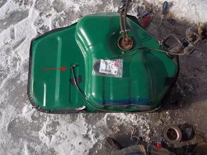 Промывка топливного бака мотопомпы