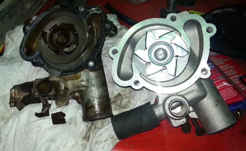 Прочие работы по ремонту мотопомп