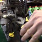 Замена топливного фильтра газонокосилки