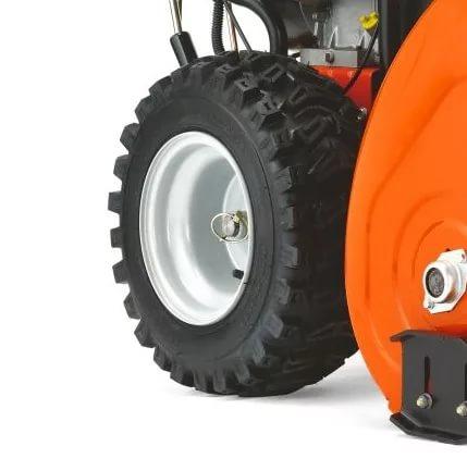 Замена курка разблокировки колёс снегоуборщика