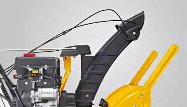 Замена / установка втулки ручки поворота желоба снегоуборщика