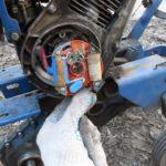 Замена катушки зарядки и питания внешнего оборудования (12В) снегоуборщика