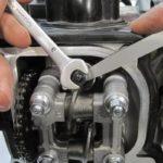 Регулировка клапанов резчика швов